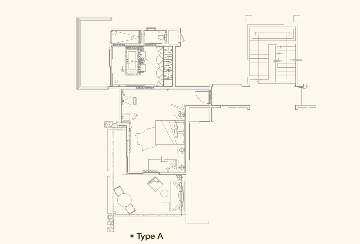 Junior Suite Floorplan A