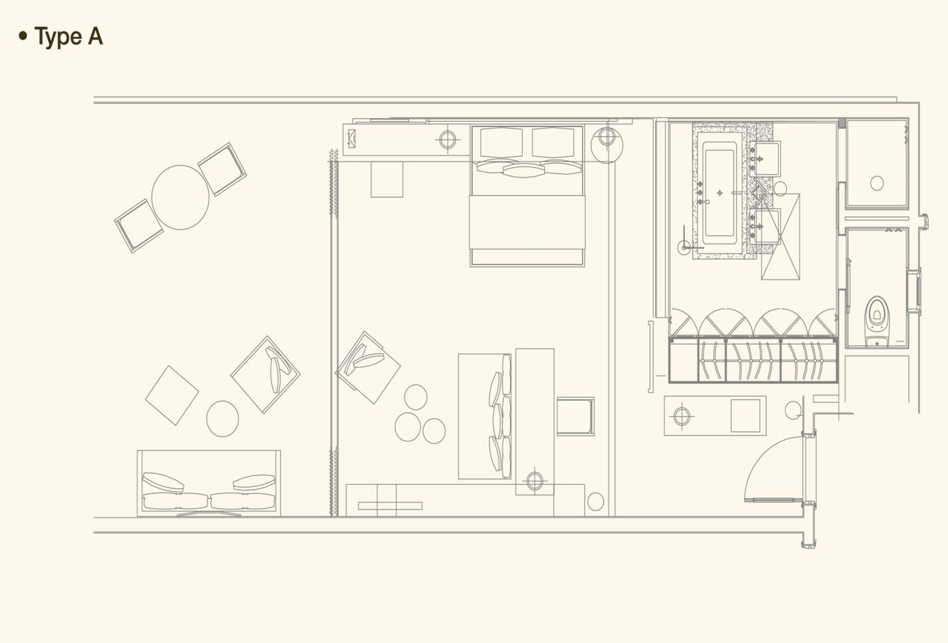 Senior Suite Floorplan A
