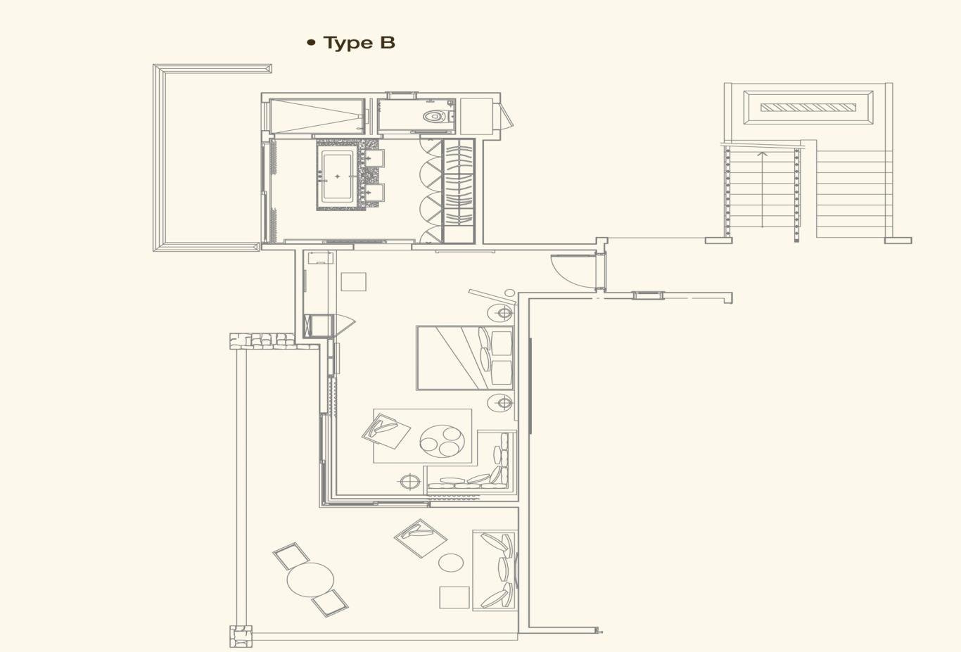 Senior Suite Floorplan B