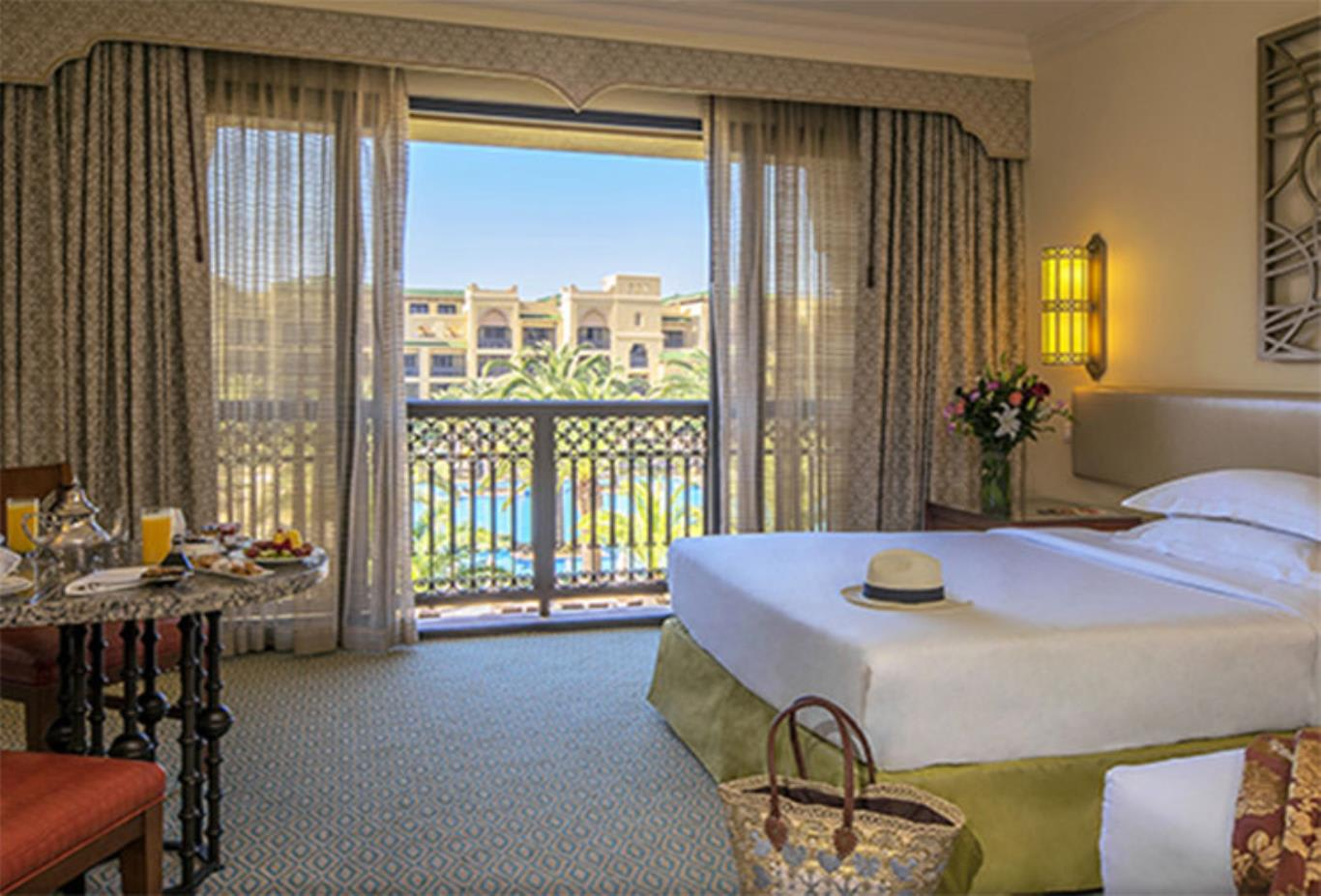 Pool View Twin Room