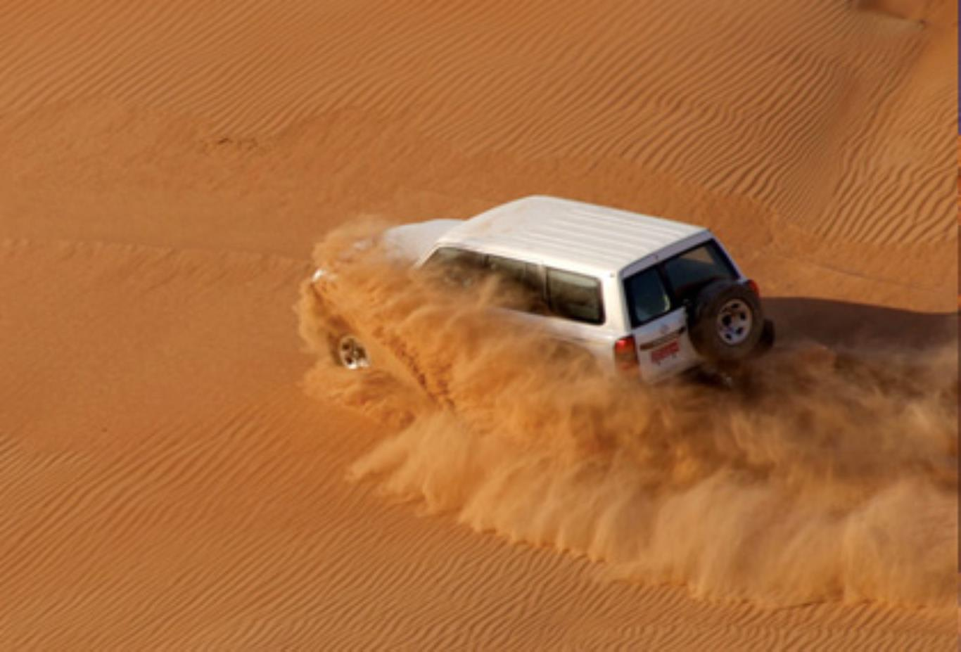Off Road in the Desert