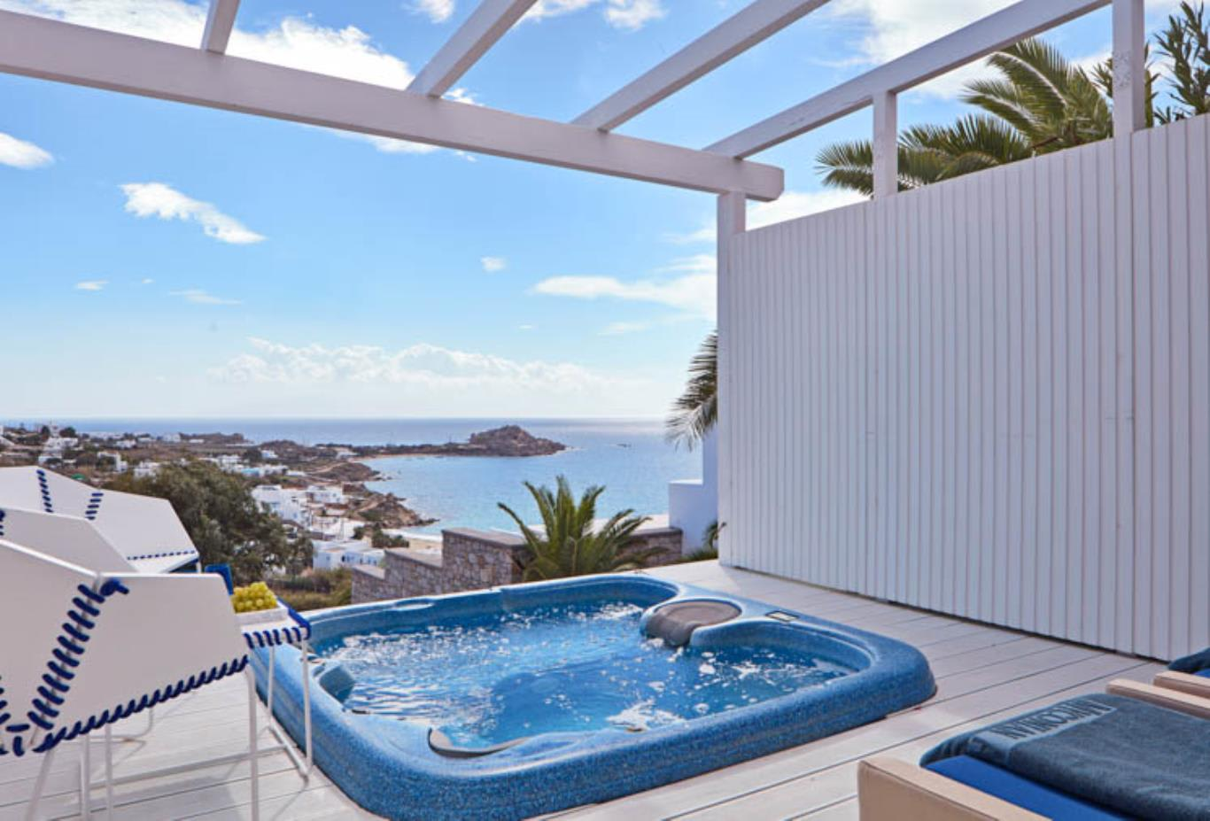 True Blue room Jacuzzi