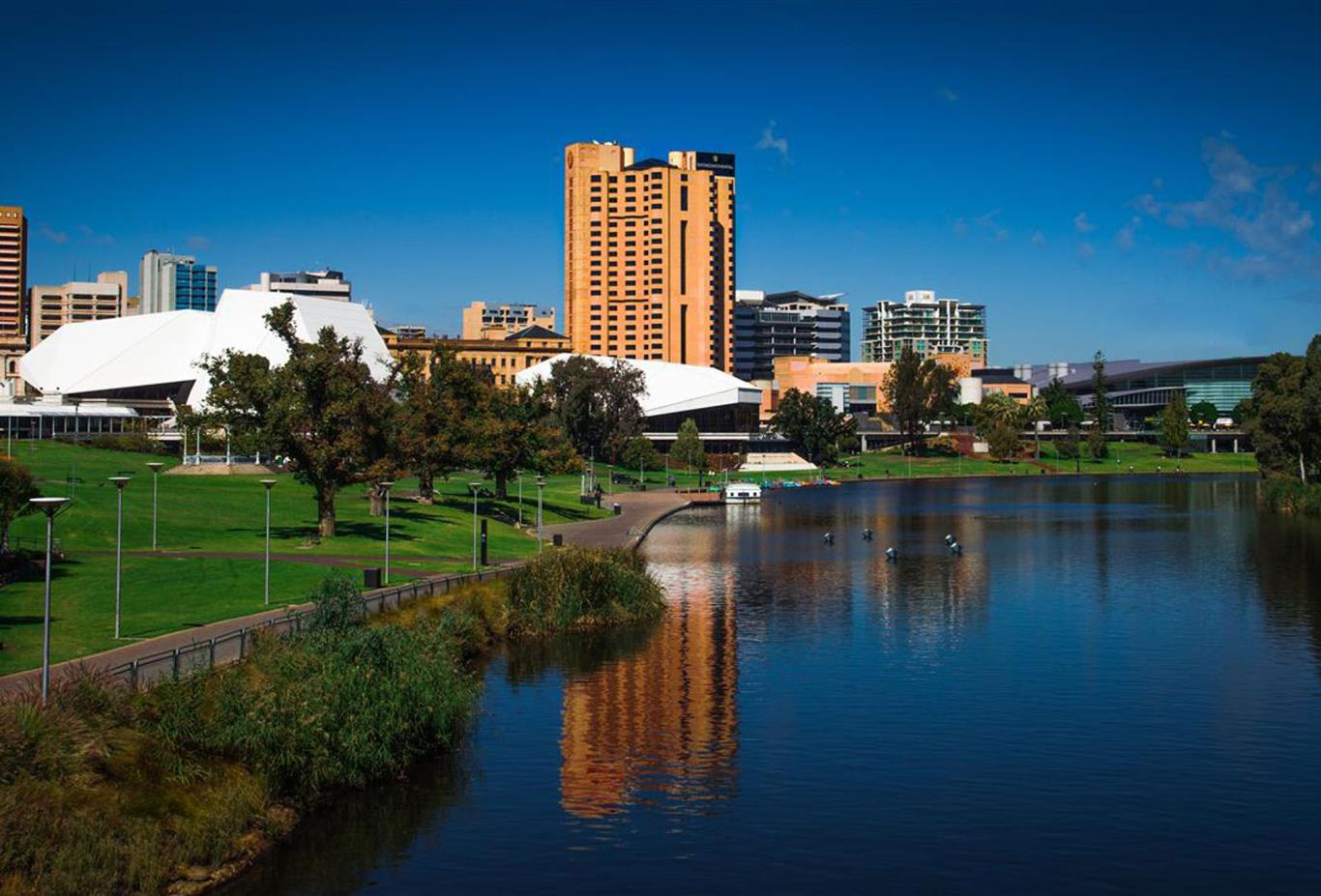 InterContinental located on the River Torrens
