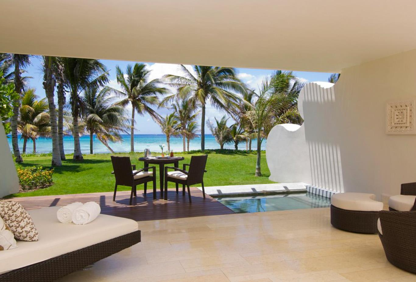 Grand Class Pool Suite Ocean Front View