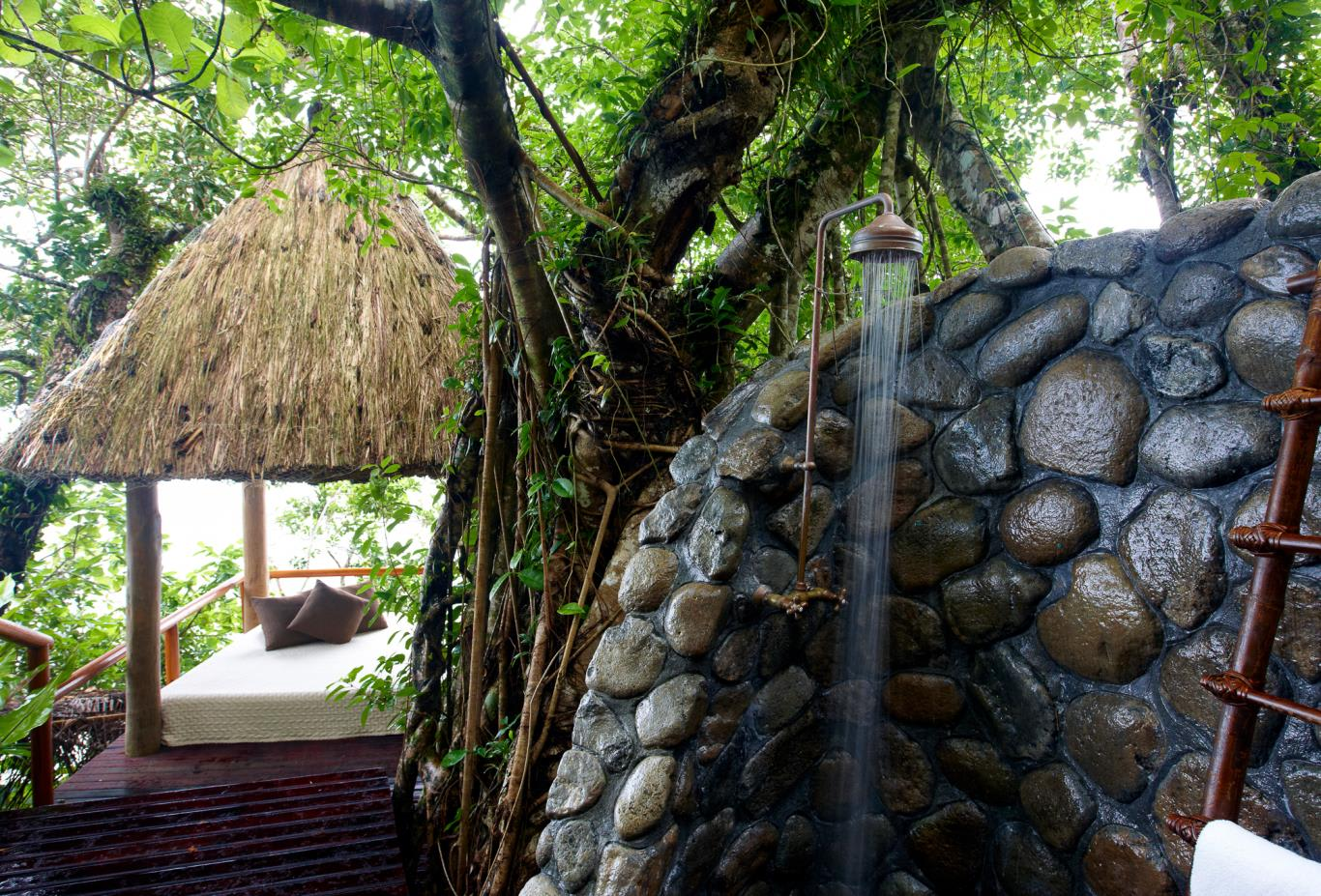 Dream House Outdoor Shower
