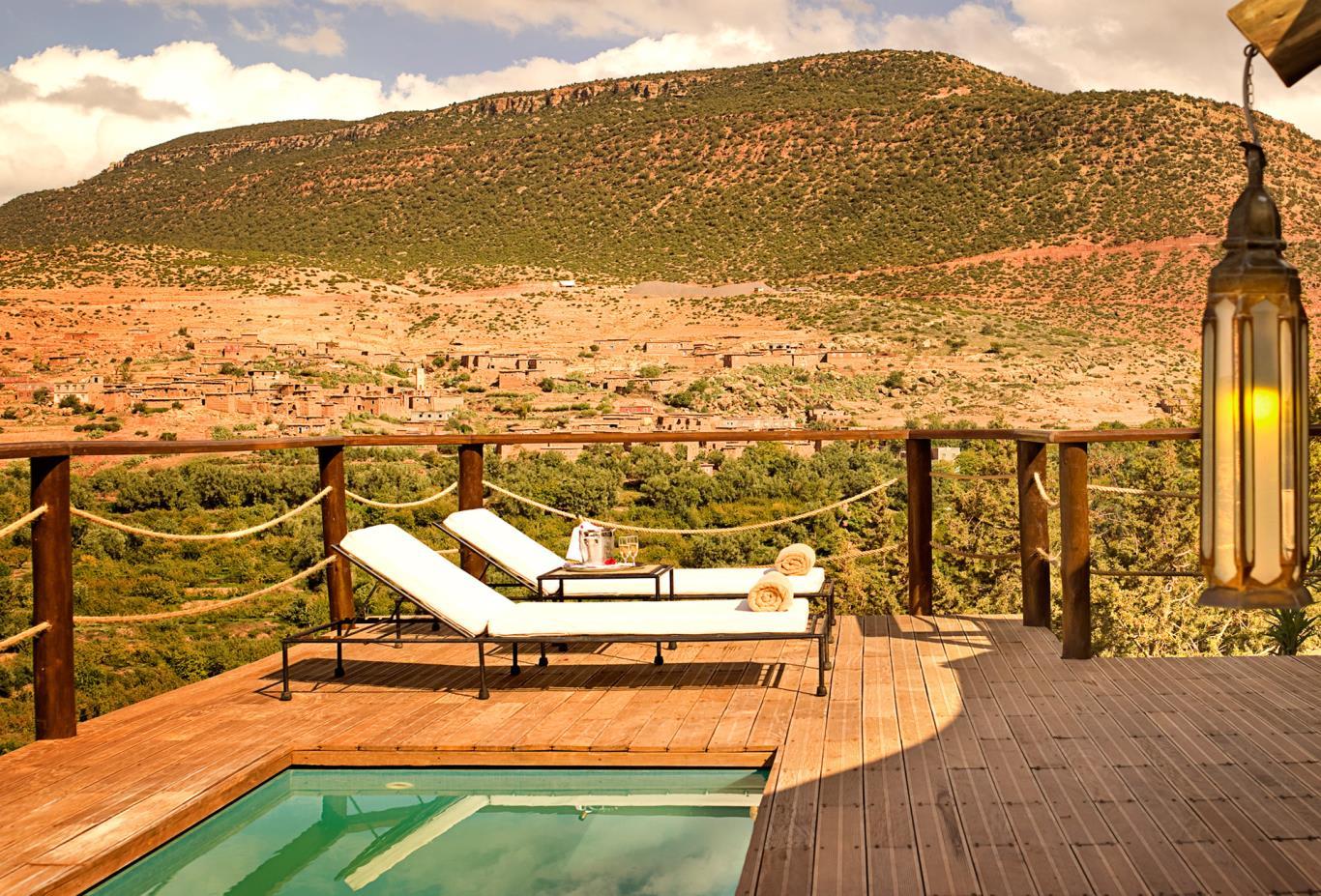 Berber Tent pool