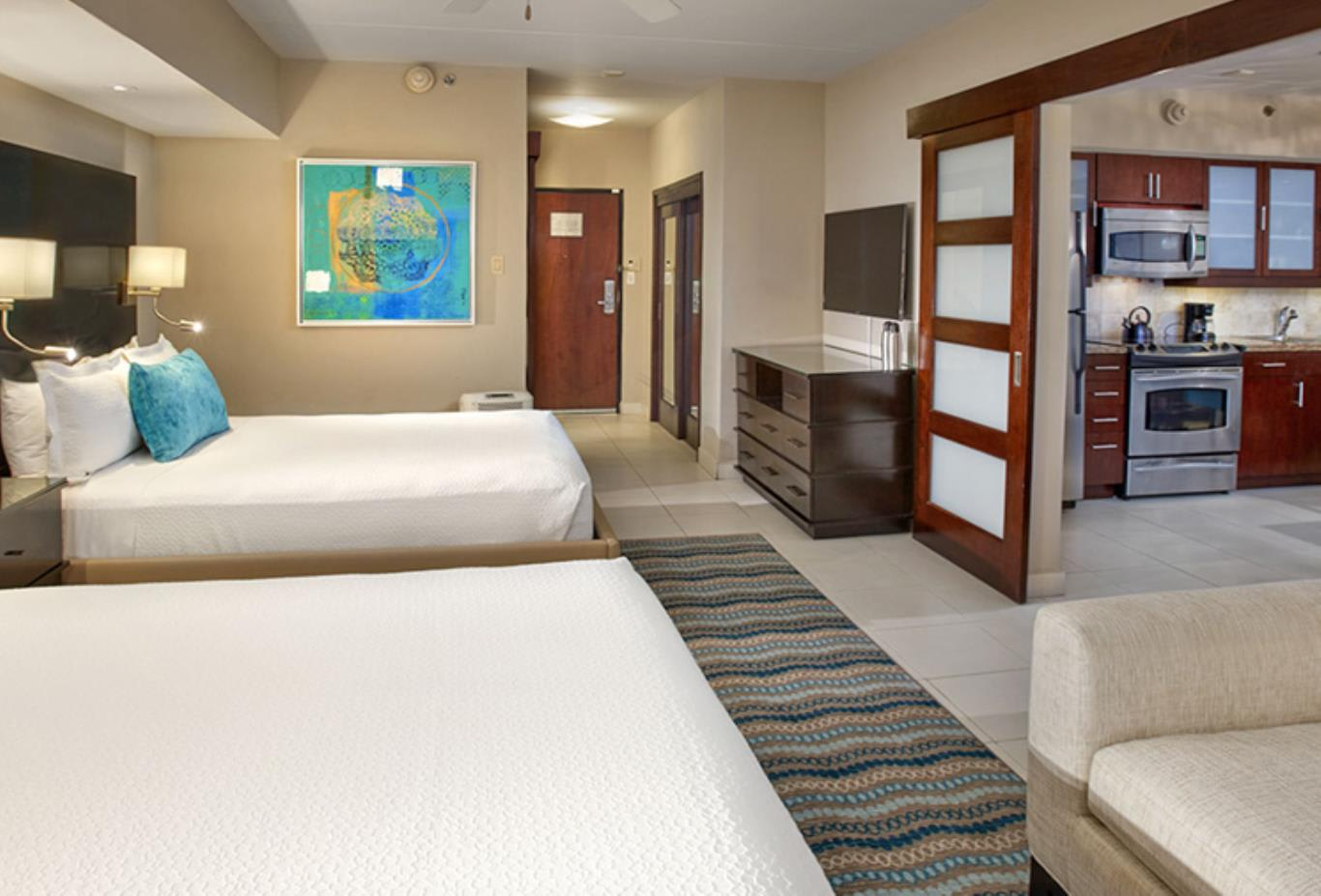 Junior Suite beds