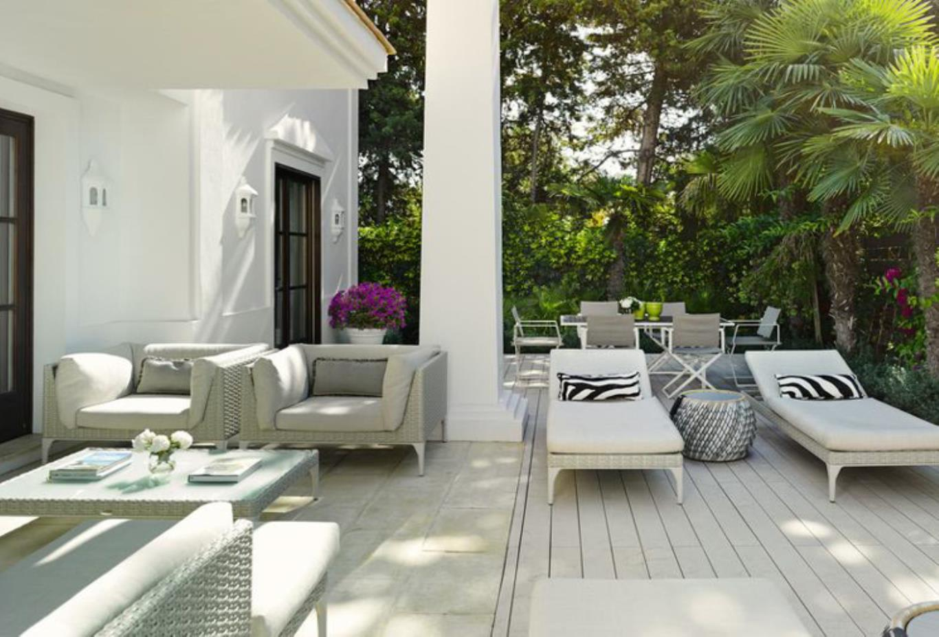 3 Bedroom Villa sundeck