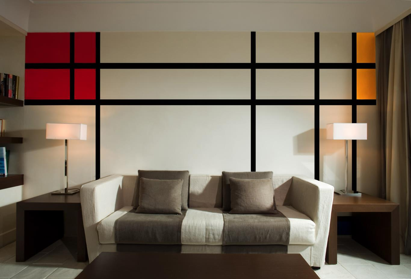 Mondrian Suite lounge