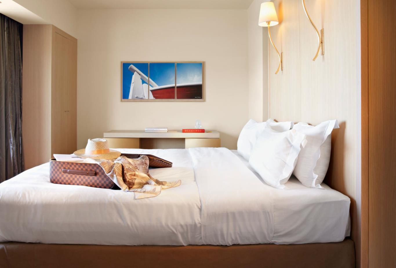 Two Bedroom Villa bedroom