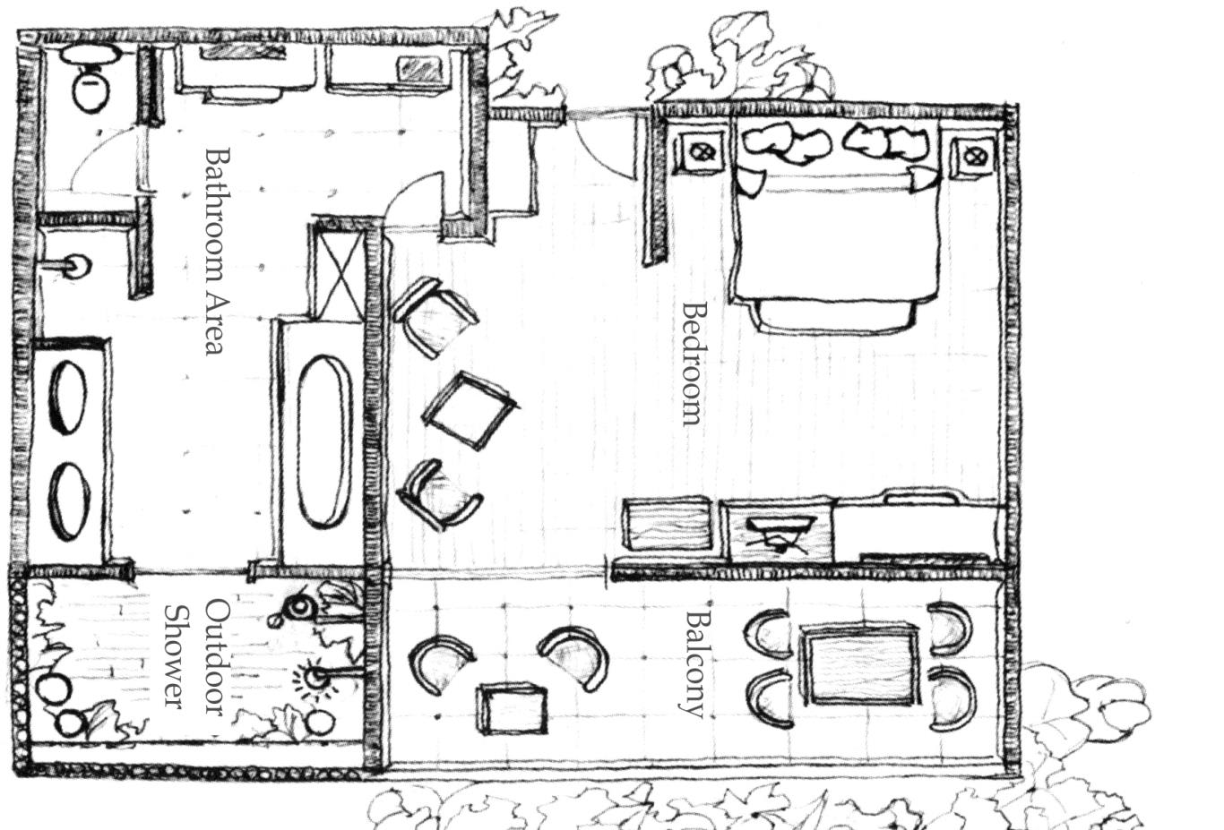 Floorplan Beachfront-ana-mandara-suite