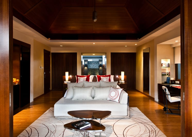 Beach Villa bedroom interior