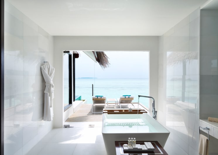 Water Pool Villa Bathroom
