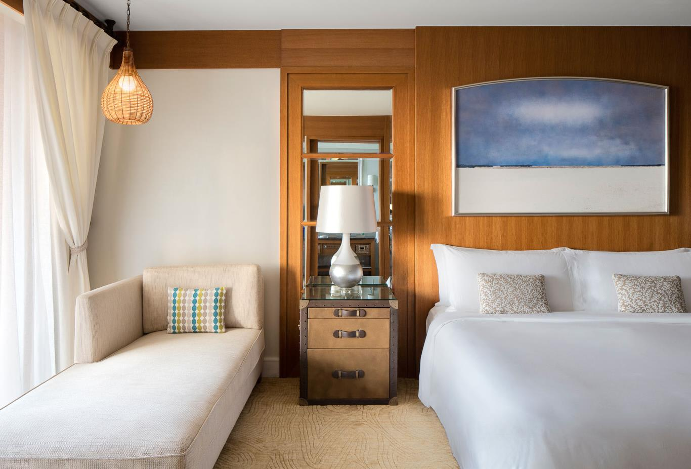 Premium Sea View Room twin beds
