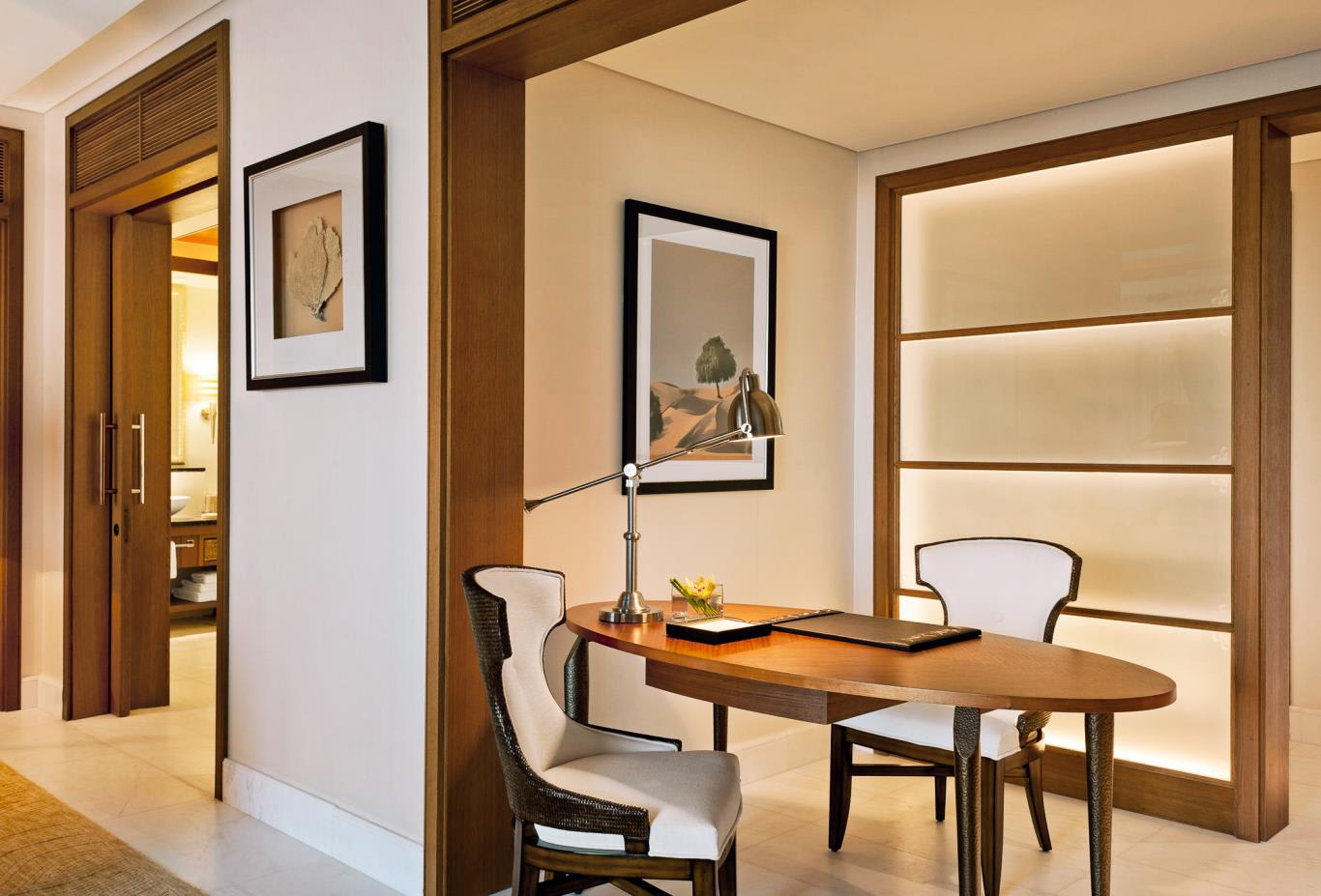 St Regis Suite study room