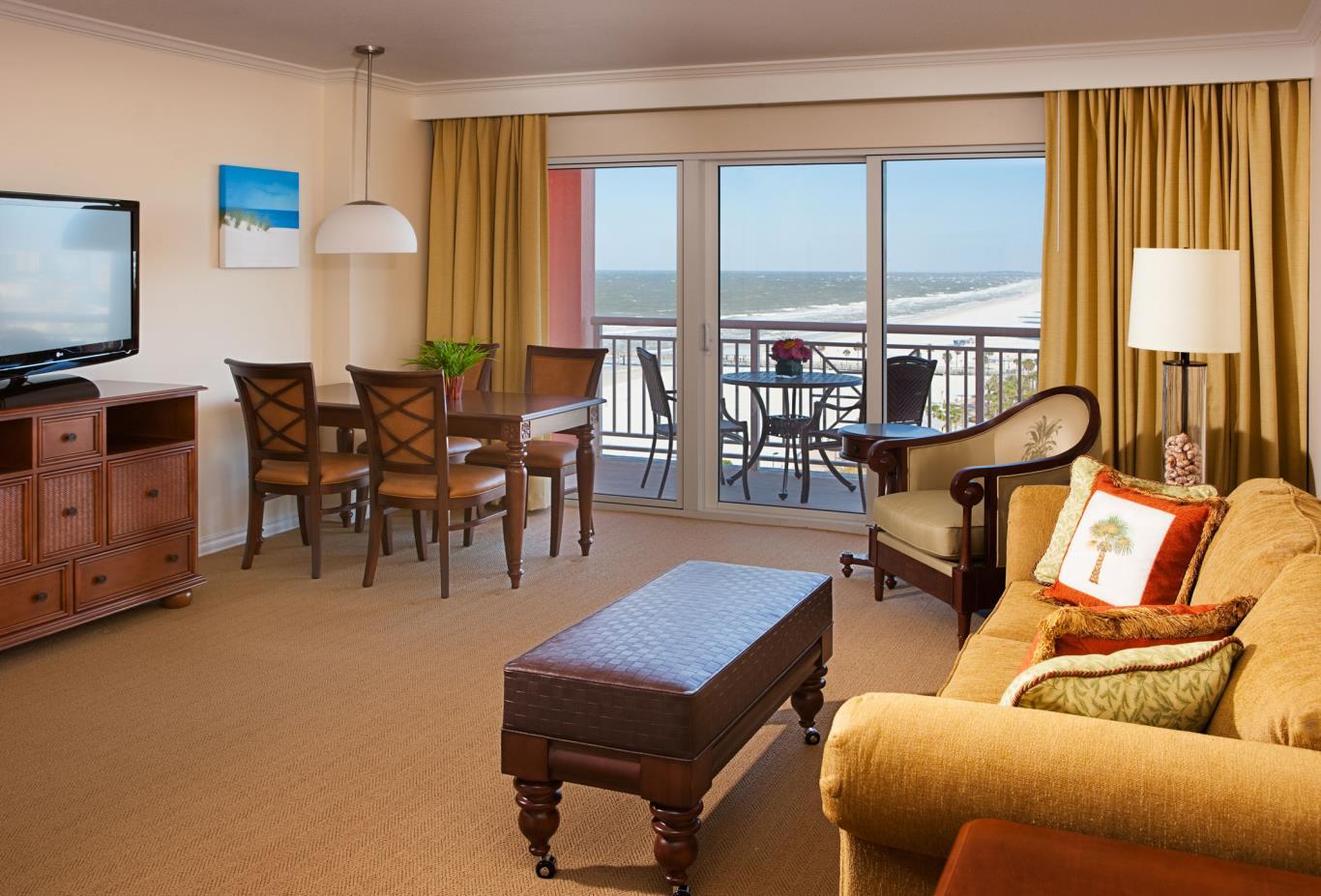 One Bedroom Suite Living