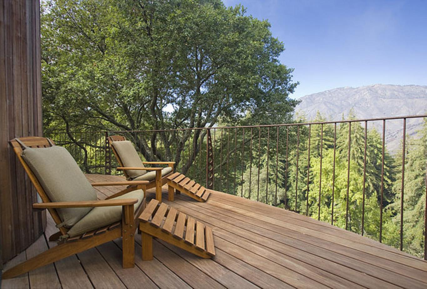 Mountain house balcony