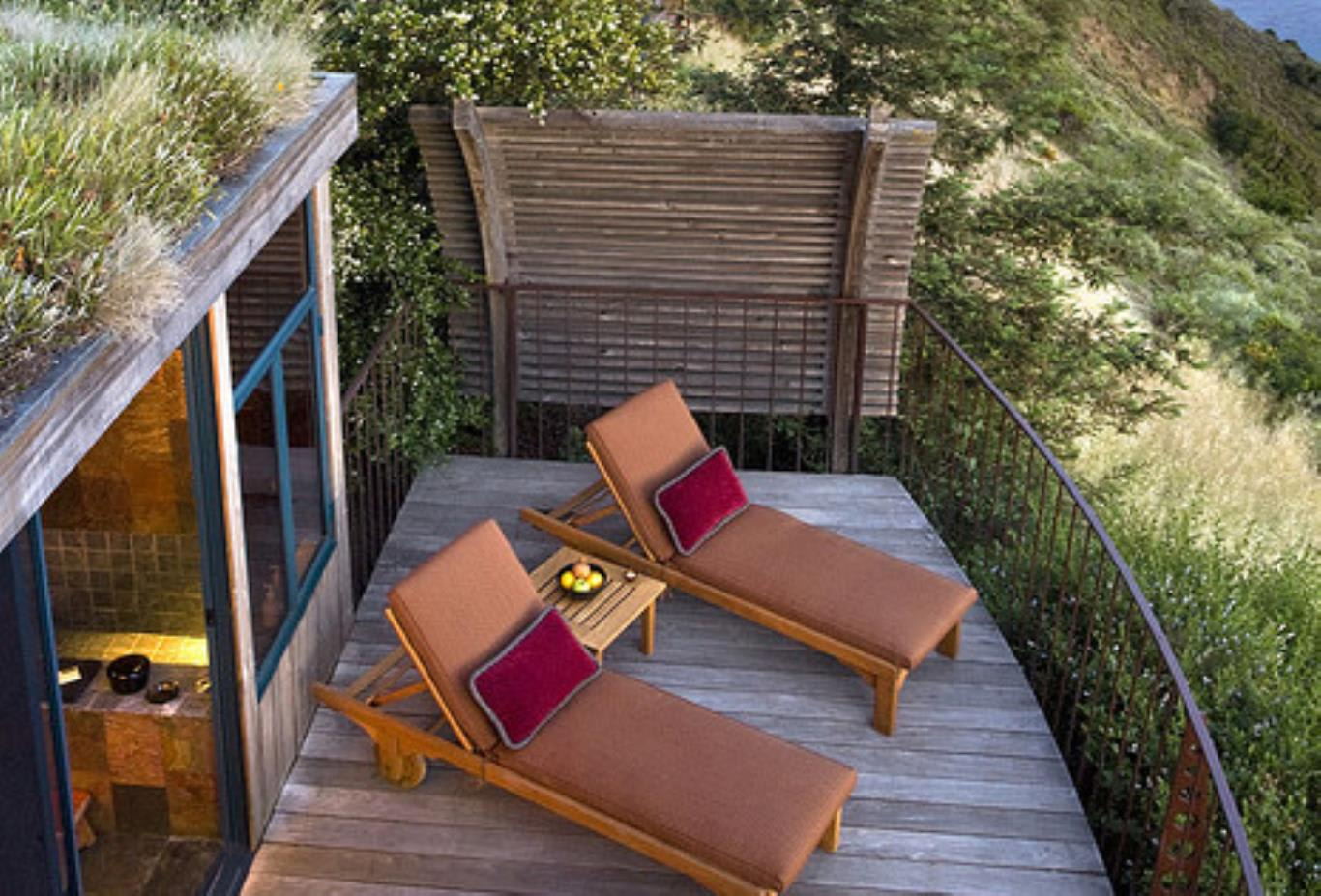 Ocean house balcony