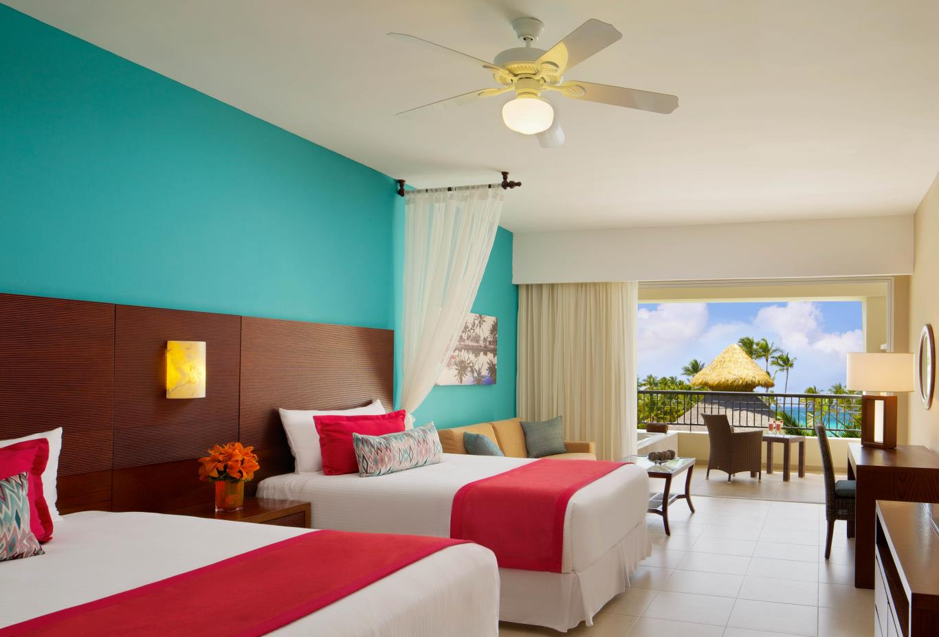 Preferred Club Junior Suite Oceanview Doubles