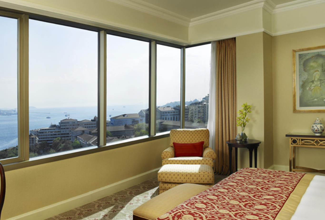 Front Bosphorus View Deluxe Room