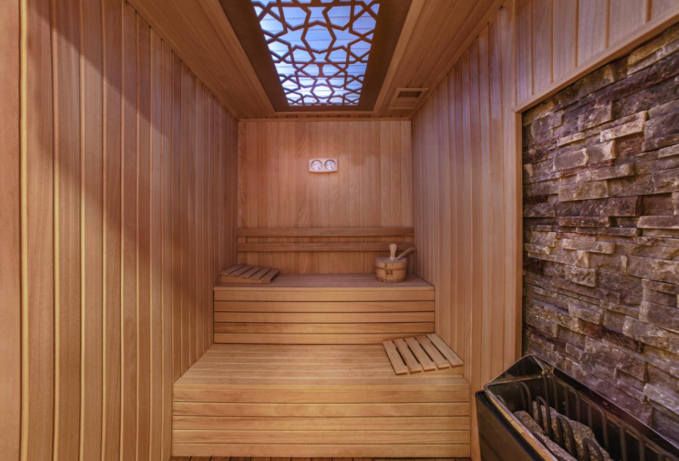 King Suite sauna
