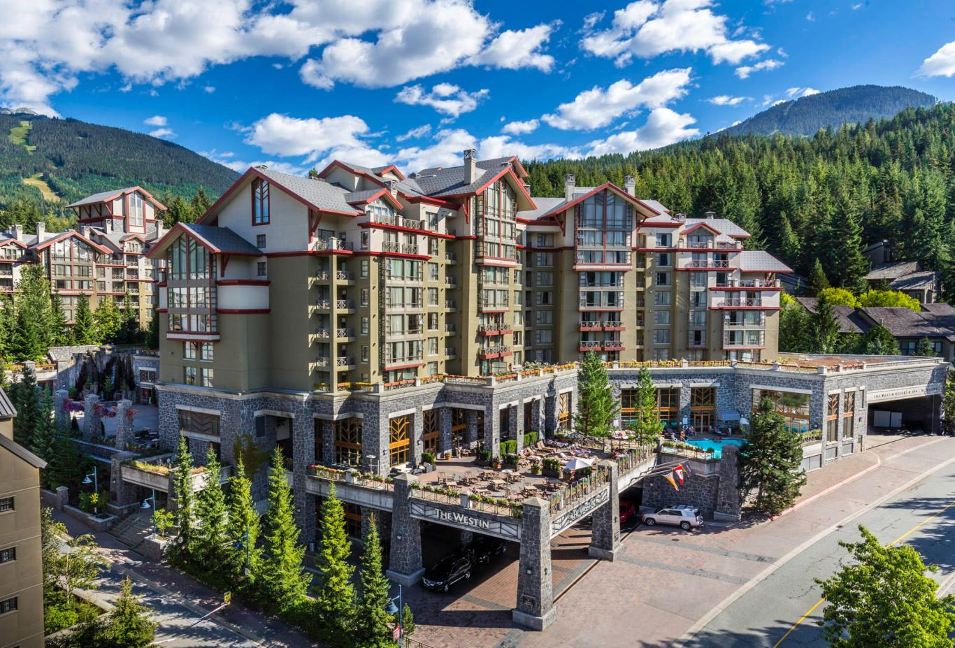 Westin Resort & Spa, Whistler in Summer