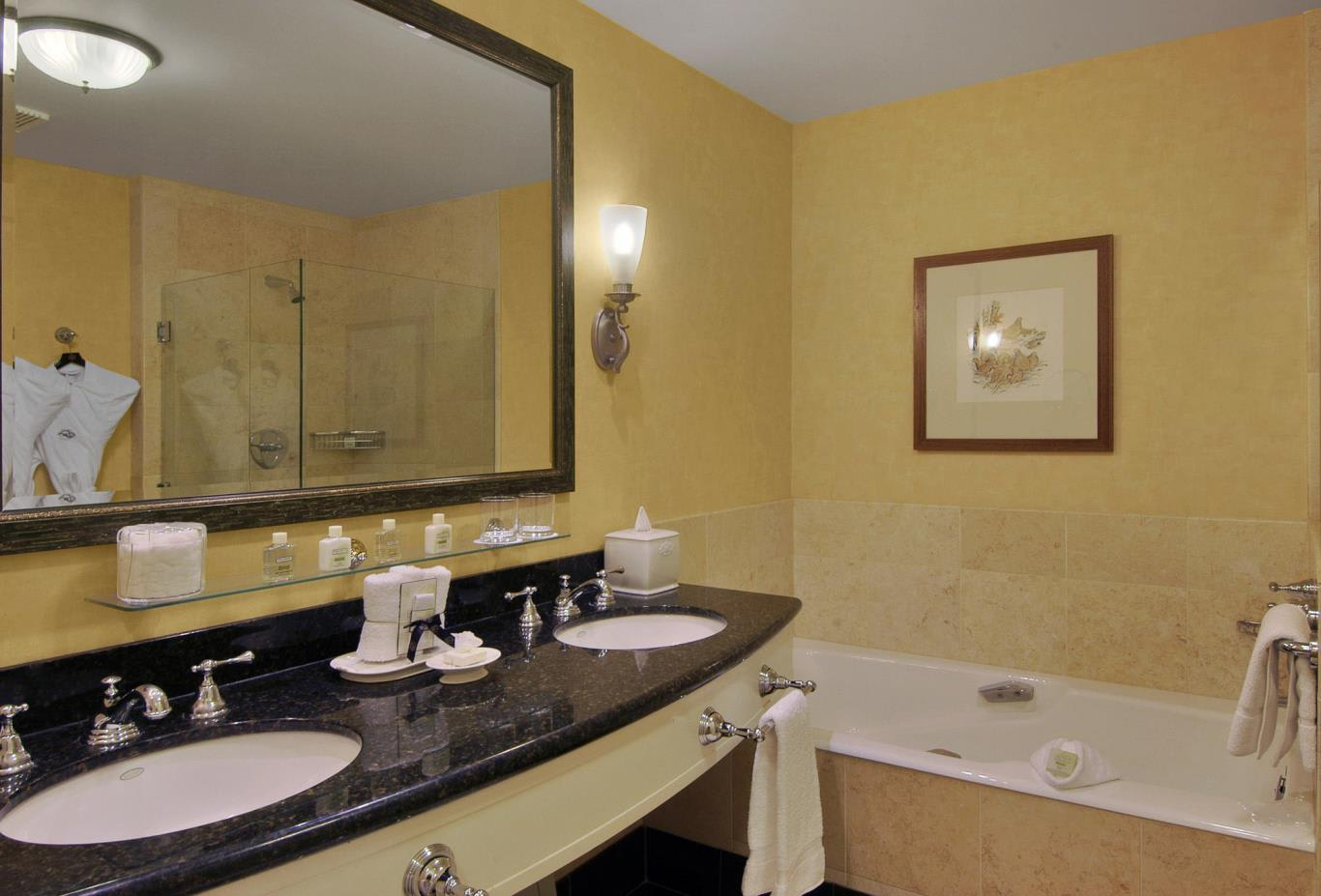 Lakefront Suite bathroom
