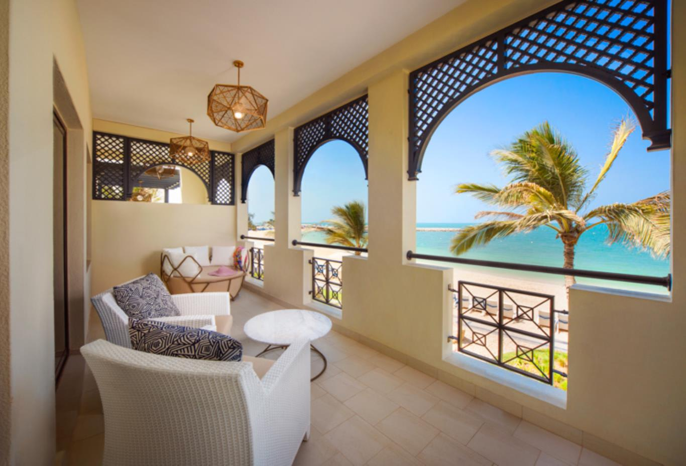 Junior Suite Sea Front Villa Balcony