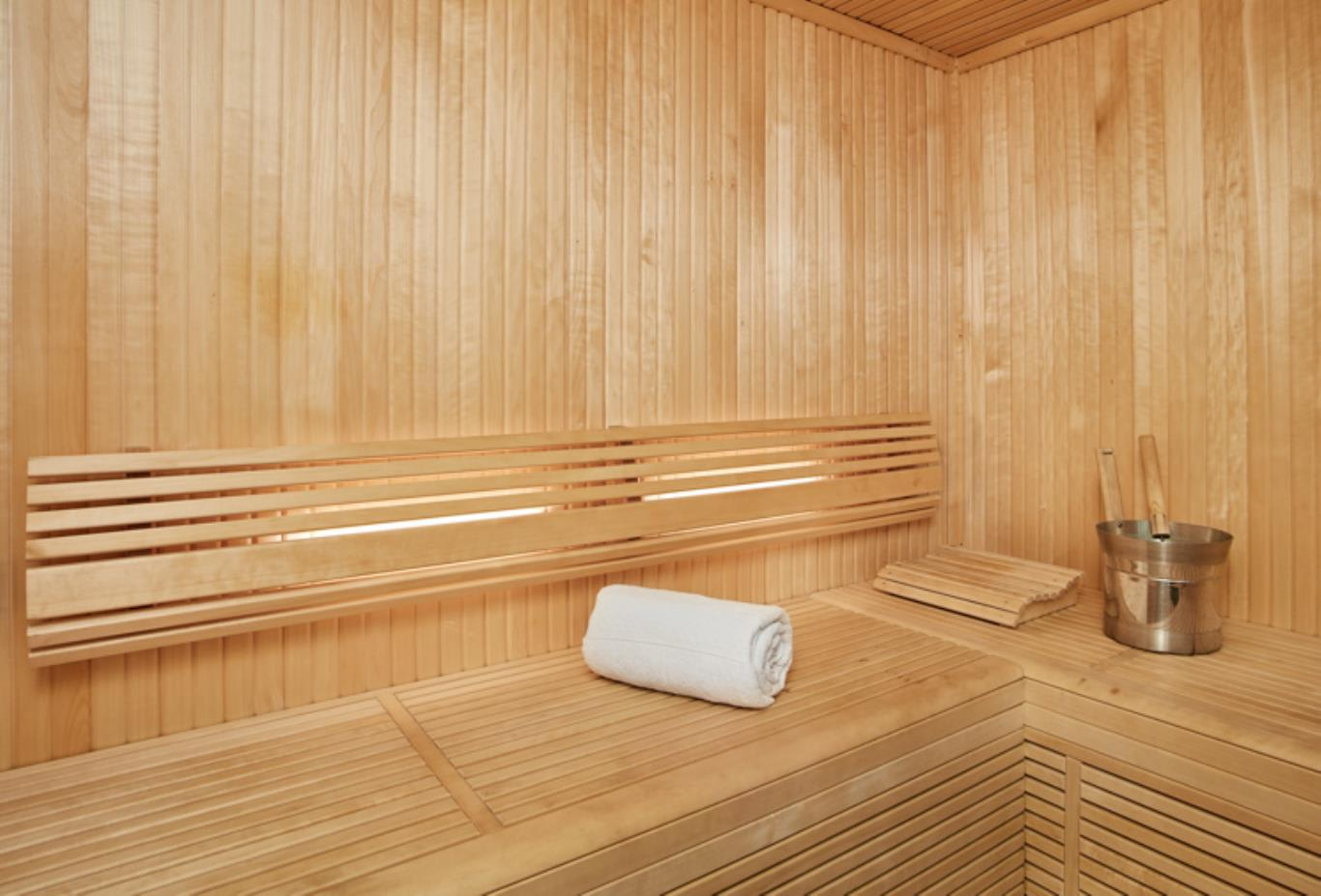 Royal Suite Sauna