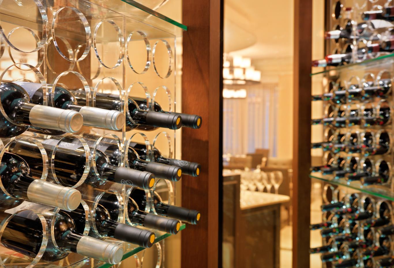 Cap Roig Restaurant Wine Cellar