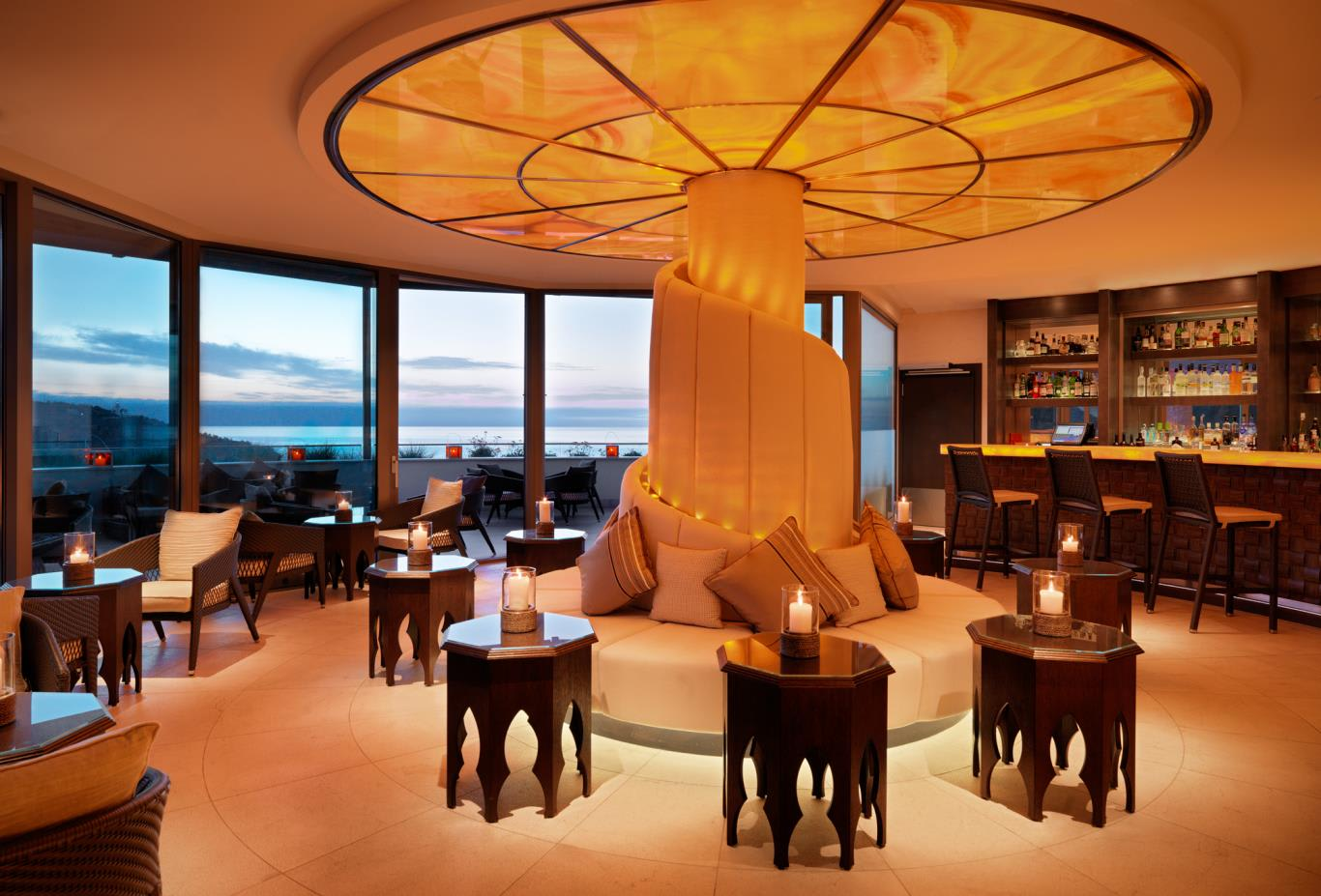 Sunset Lounge Bar Interior