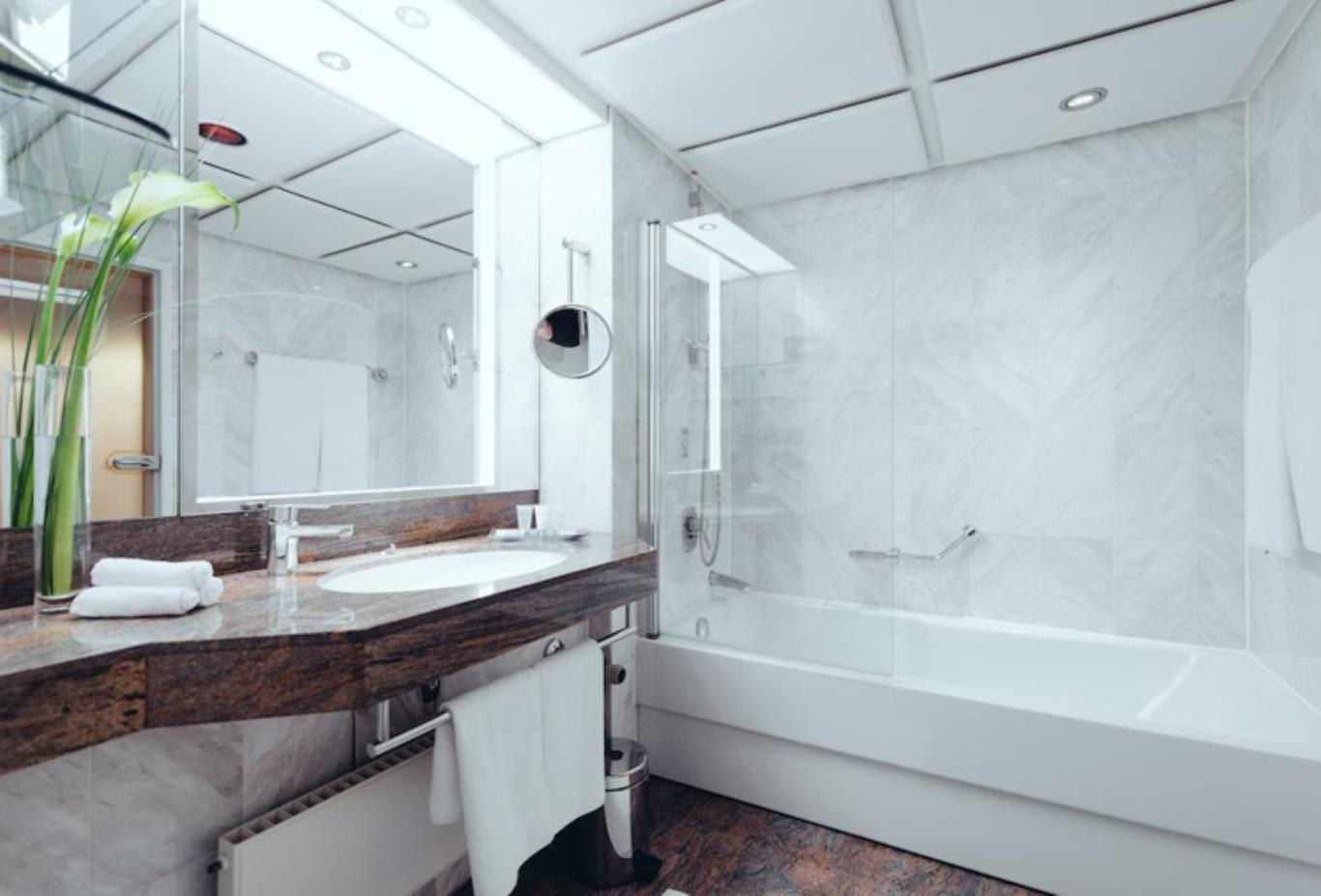 Grand Classic Double or Twin Room bathroom