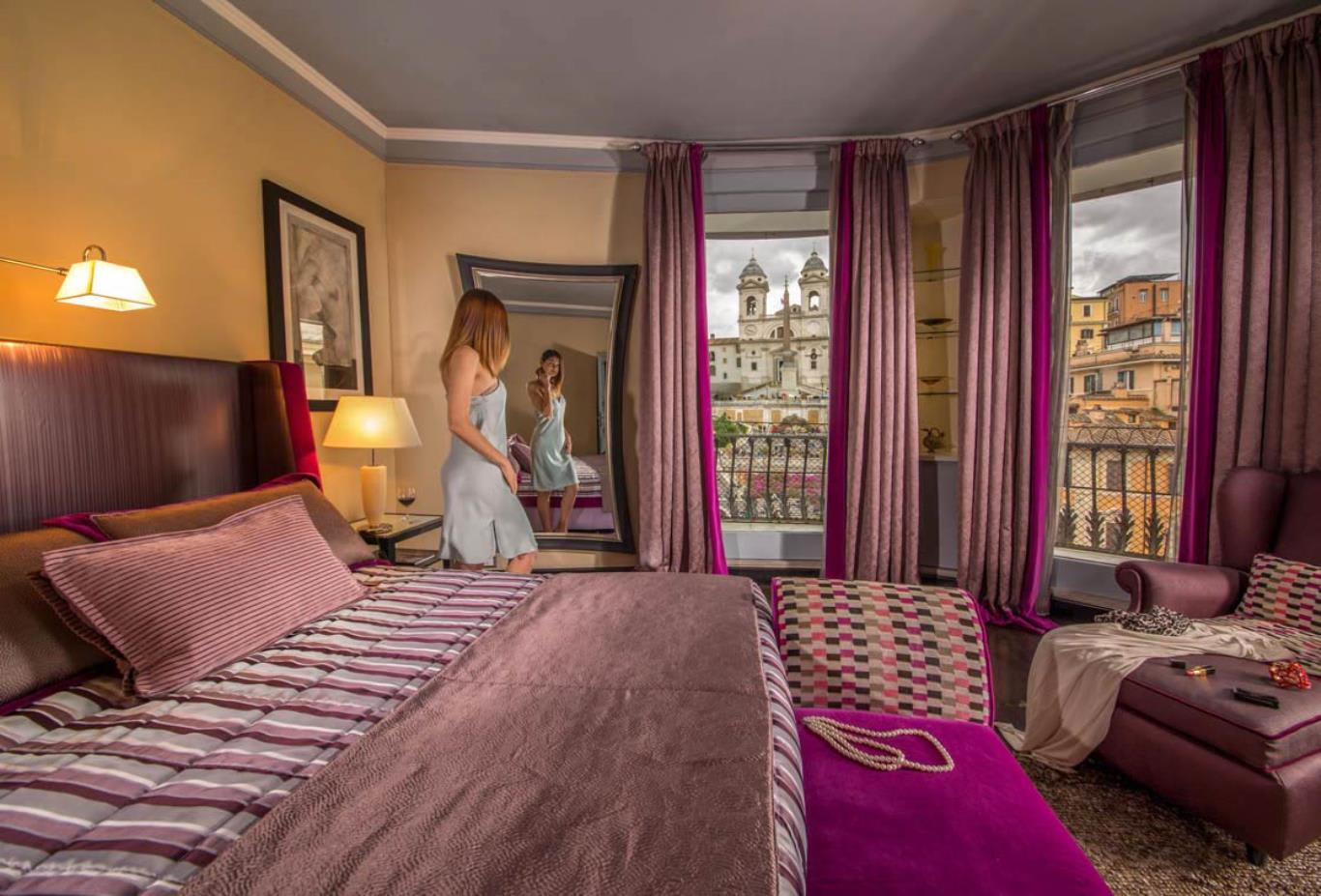 Senior Suite with view of Spanish Steps