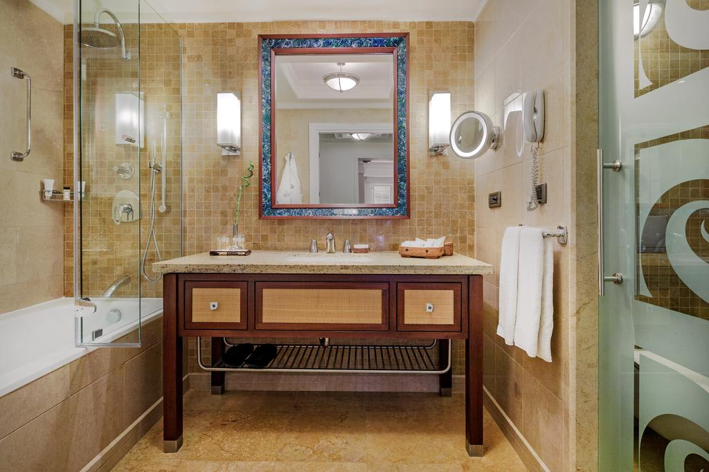 Standard room bathroom