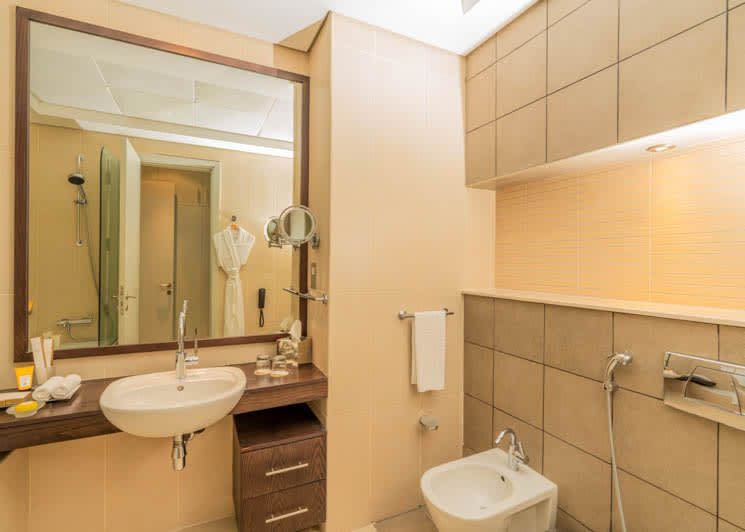 Family Suite guest bathroom