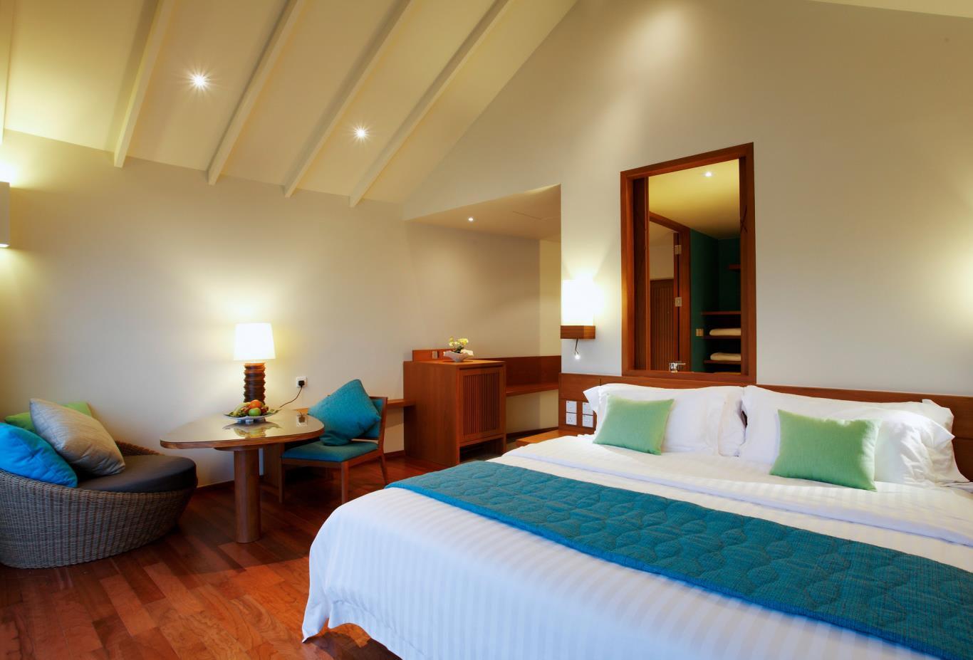 Deluxe Water Villa Bedroom