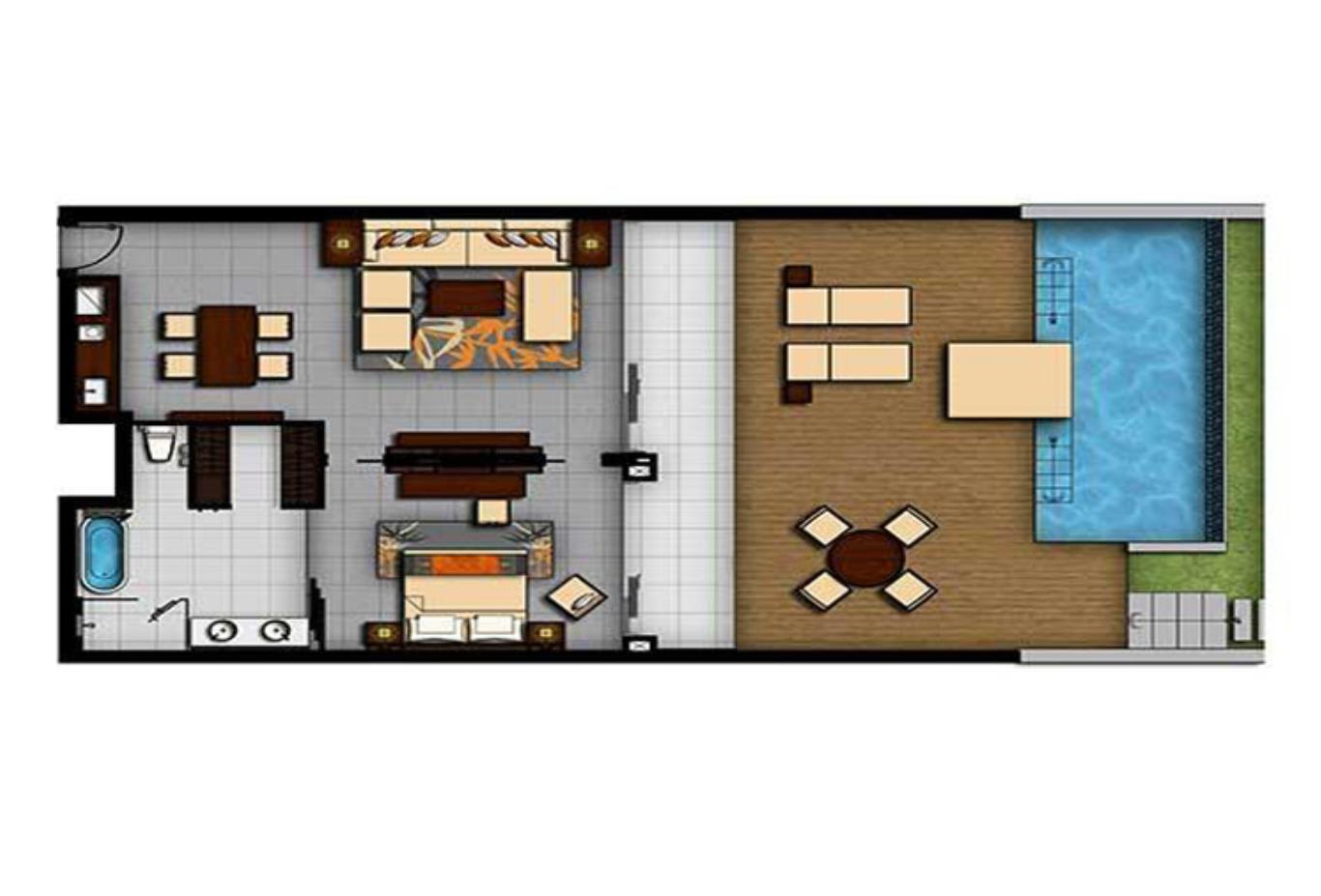 Floorplan-One-Bedroom-Suite-King