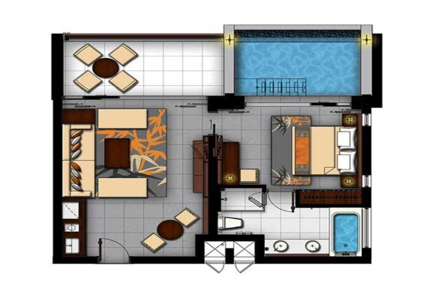 Floorplan-Premier-Room