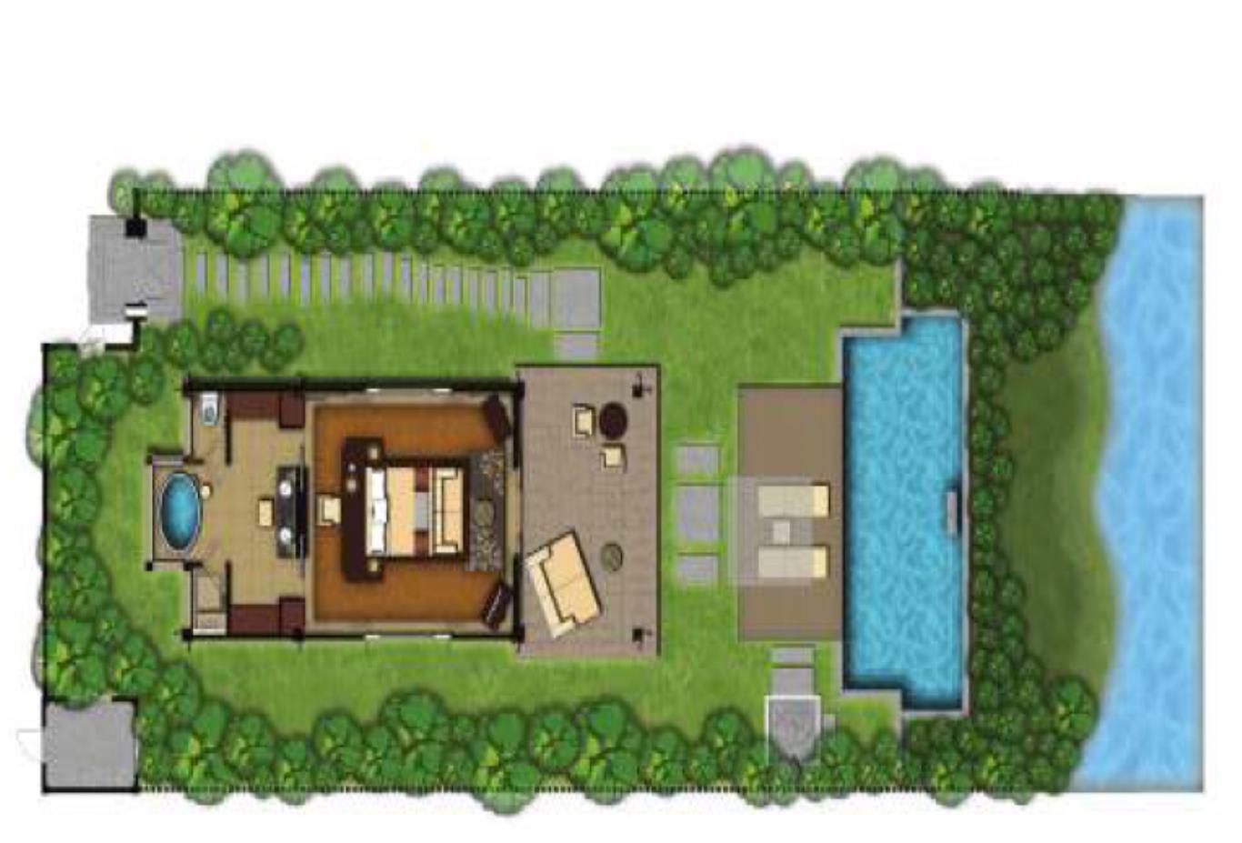 Lagoon Villa Floorplan
