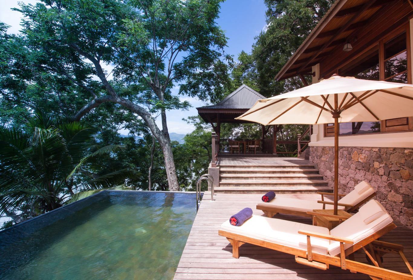 Private Pool Villa deck