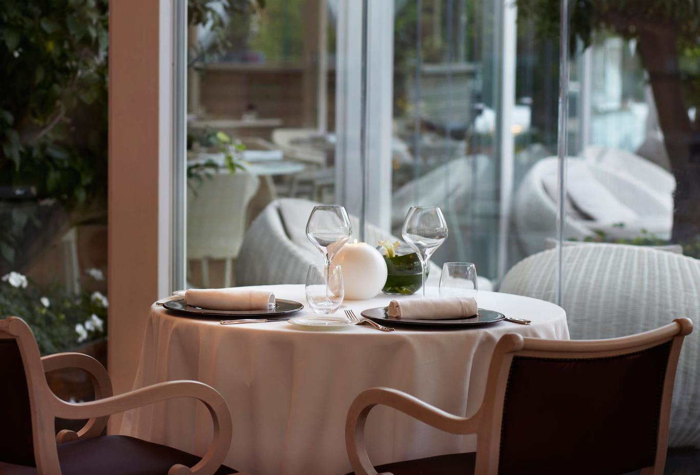Viva Voce Restaurant Winter Terrace