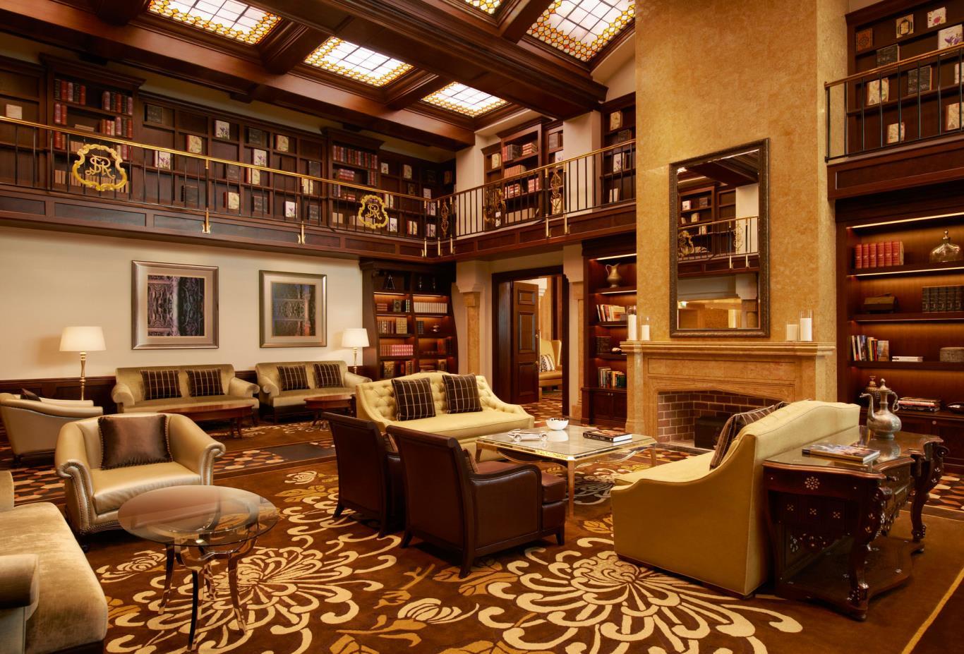 The St Regis Bar Library