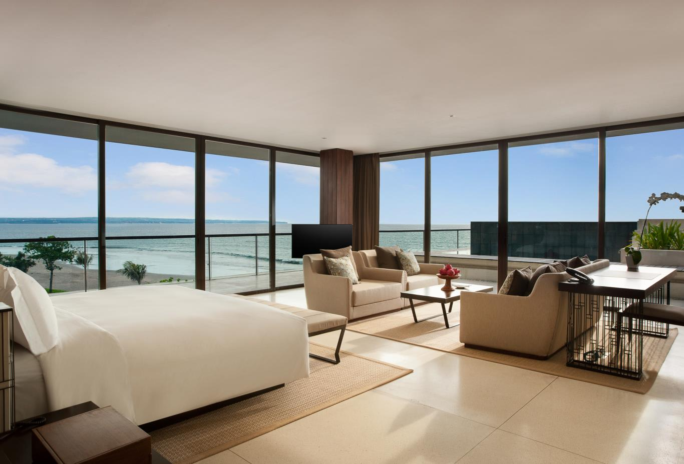 Alila Penthouse master bedroom