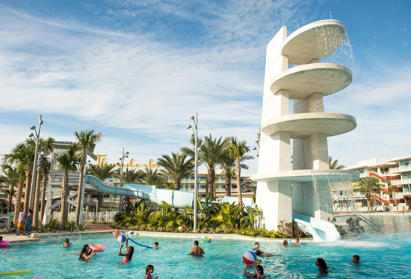Cabana Courtyard Pool