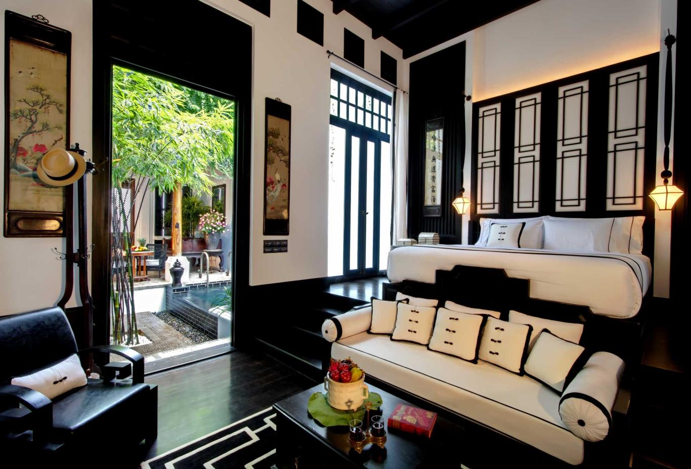 Pool Villa Chinese Theme (Bedroom)
