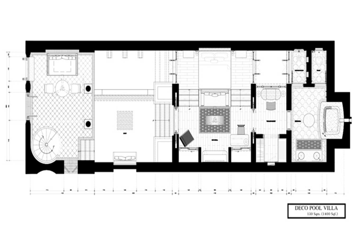 Deco Pool Villa_Floor Plan