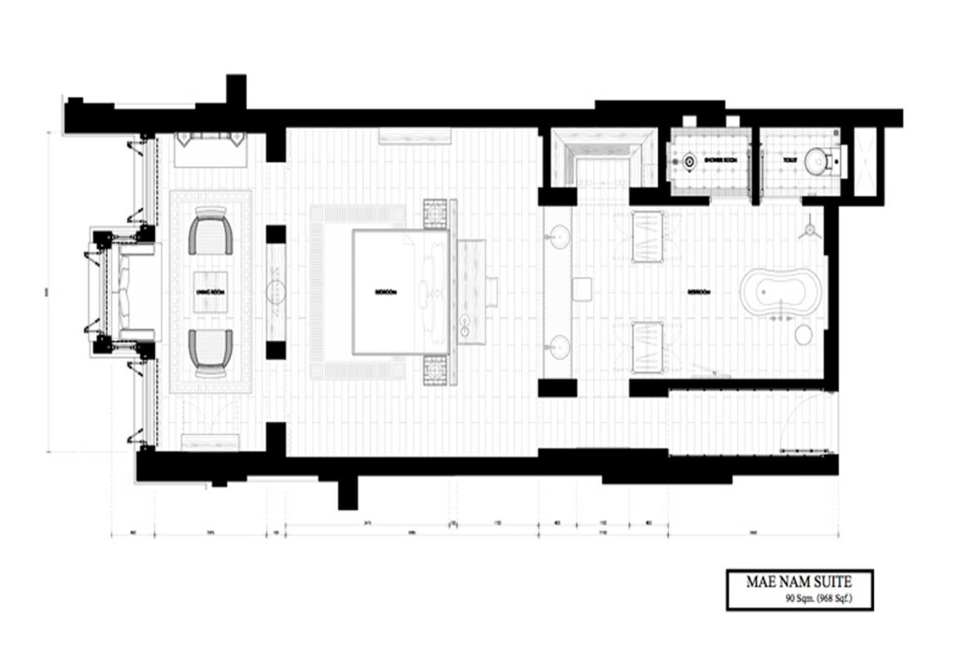 Mae Nam Suite_Floor Plan