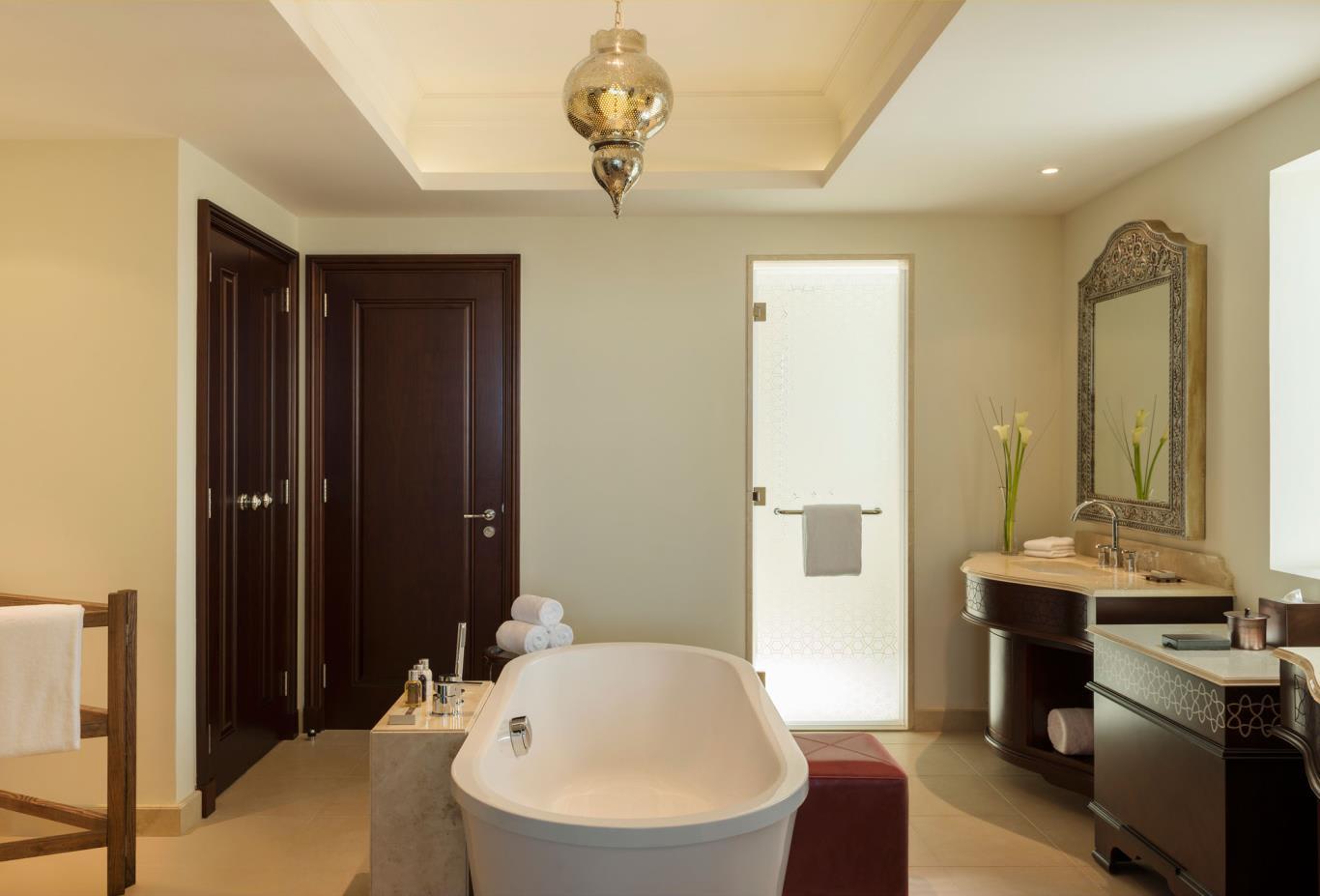 Al Dana Suite Bathroom