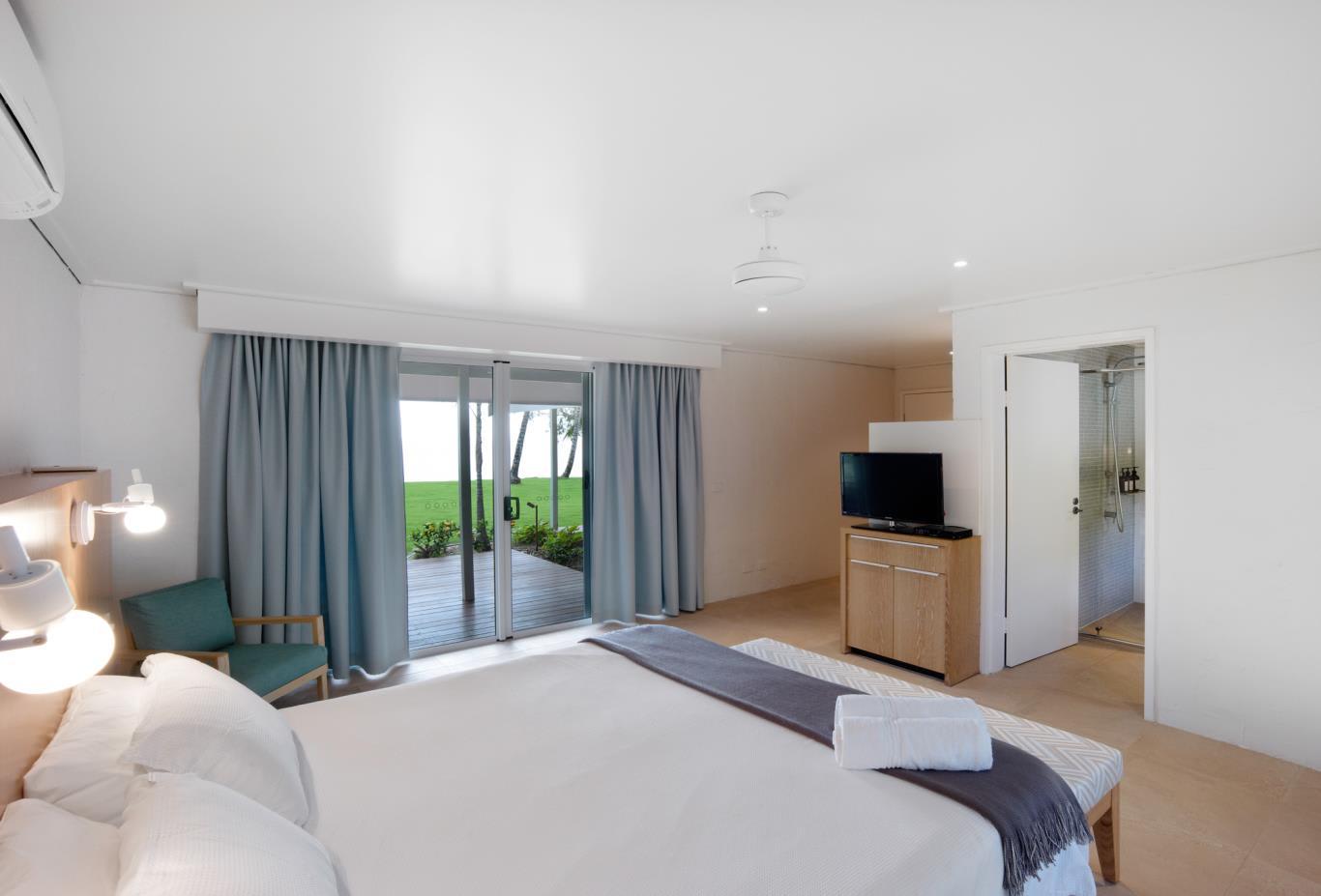 North Beachfront Room Bedroom