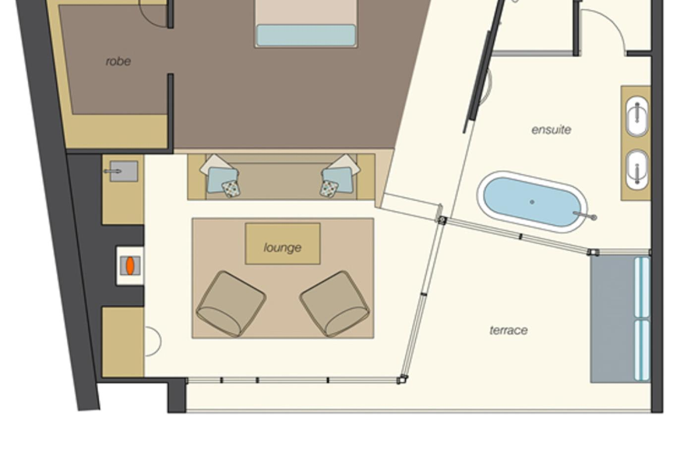 Ocean Retreat floor plan